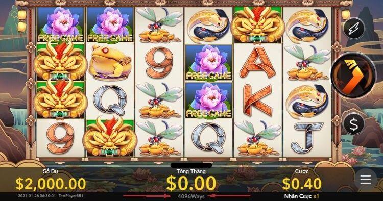 Phòng chơi slot game BK8