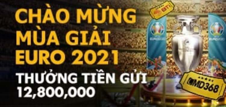 Chào Mừng EURO CUP – Nhận Thưởng Tới 12.800.000 Cùng BK8